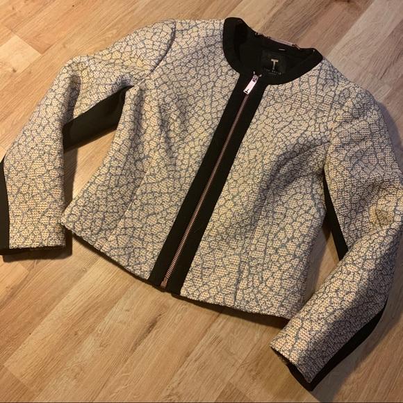 Ted baker zip jacket sz 0